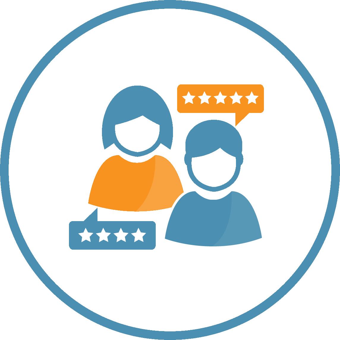 Enhance Customer Satisfaction icon